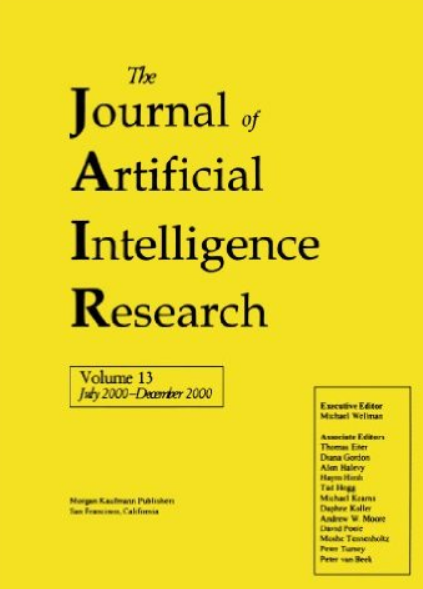 JAIR - Journal of Artificial Intelligence Research
